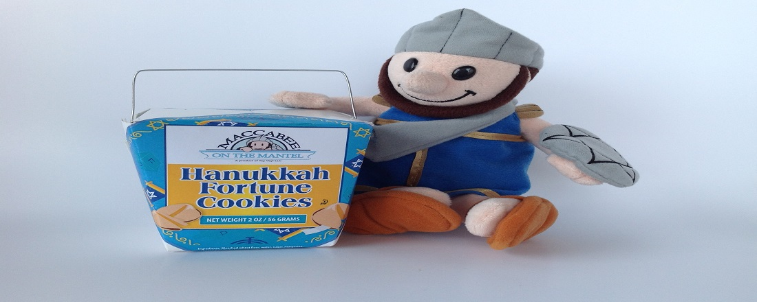 Hanukkah-Fortune-Cookies-and-Maccabee-plush-toy-slide-3