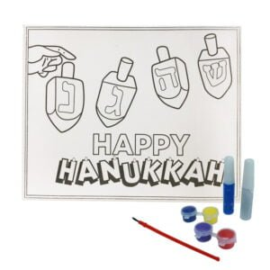 DIY Canvas Paint Set | Hanukkah DIY Canvas Paint Set | %%sitename%%