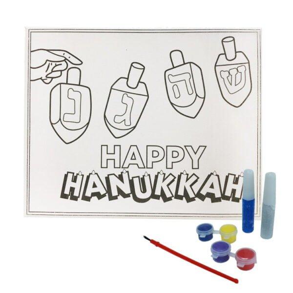 DIY Canvas Paint Set   Hanukkah DIY Canvas Paint Set   %%sitename%%