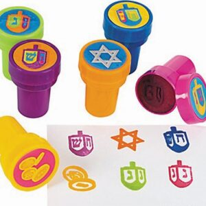 hanukkah ink stampers
