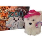 Kushka Visits the Zoo book and plush toy scaled