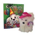 Kushkas Surprise Birthday book and plush toy scaled