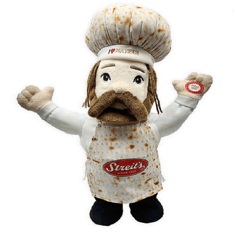 "Streit's Sam The Matzo Man 14-Inch ""Original"" Musical Plush Toy"