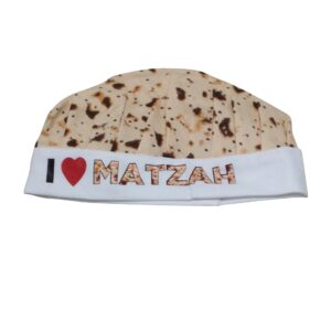 Child's I Love Matzah Chef's Hat