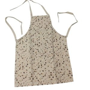 "Matzah Print Adult Medium 20"" x 27.5"" Apron - Adjustable Neck Straps"