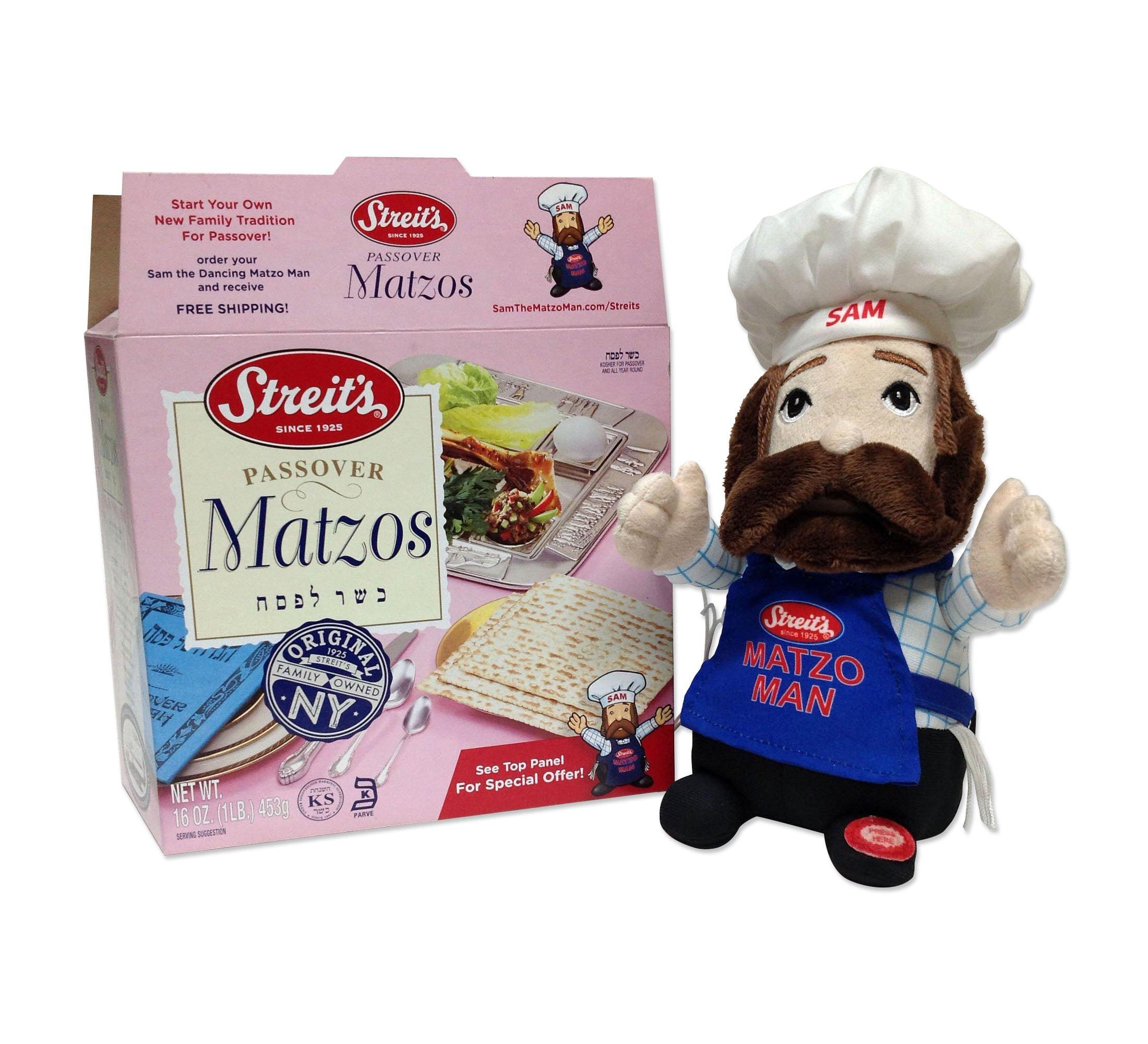 "Streit's Sam the ""Original"" Matzo Man"