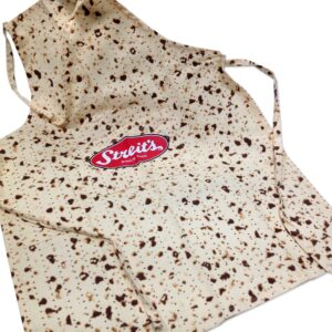 Streit's Matzo Print Adult Medium Apron for Passover