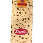 Streit's Matzah Print Design - 3 pcs Set - Herringbone Towel, Pot Holder and Oven Mitt