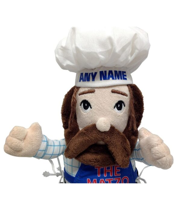 Customized Matzo Man Limited Time Offer