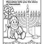 Maccabee's Hanukkah Story Fun Activity Coloring Book