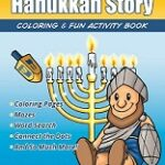 Maccabees Hanukkah Story Fun Activity Coloring Book 3