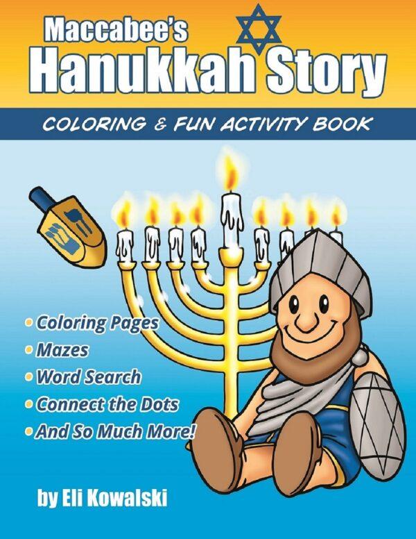 Maccabees Hanukkah Story Fun Activity Coloring Book