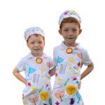 Chag Sameach Childs apron set