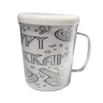 DIY Hanukkah Coloring Mug