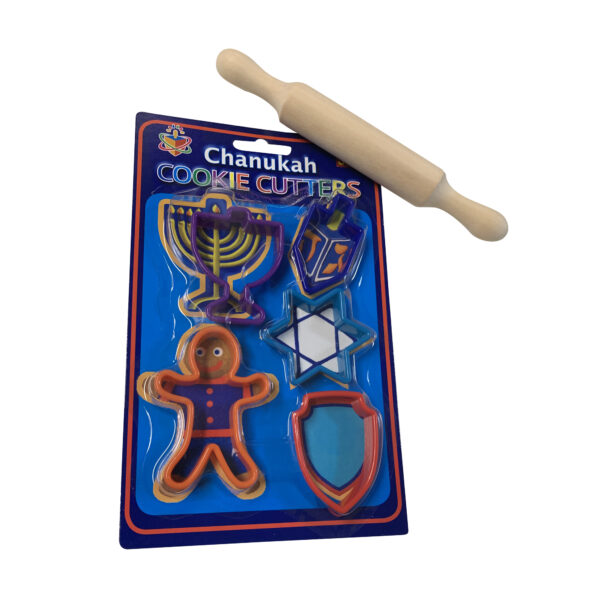 Hanukkah Cookie Cutter and rolloing pin