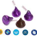 Hanukkah Dark Chocolate Hersey kisses