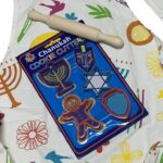 Hanukkah cookie cutter and play set