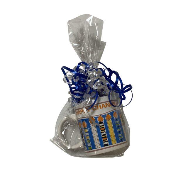 Hanukkah wrapped Mug