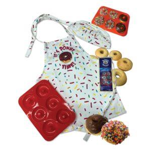 It's Donut Time childs size 5 pc donut baking kit